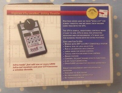 DIGITRAX UT4 LocoNet Utility Throttle EXCELLENT COMPLETE very LIGHTLY USED