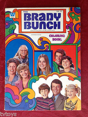 Florence Henderson THE BRADY BUNCH Vintage TV Show Coloring Book Cast Photo PIC
