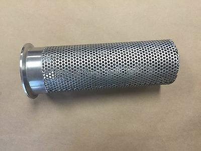 """Storage Tank Vent Screen with 3"""" Tri Clamp Ferrule T304 Stainless Steel New"""
