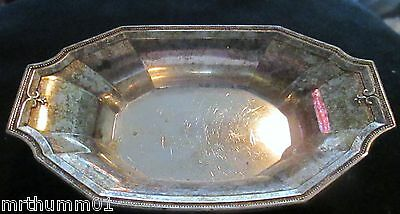 Small Gorham Sterling Dish-1925, And A Hand Made Sterling Shaker