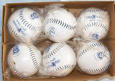 Sky Hawk Official Softball B-100 COR-50 Licensed by USSSA Lot of 6 NEW! Lot 1