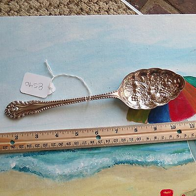 R & D L A1 Robert & Dore serving silverware spoon (lot#8540)
