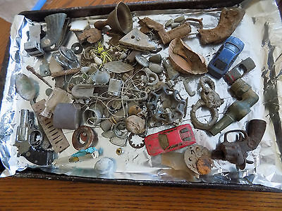 Dug Lot Metal Detecting Finds Unresearched North La, South Ark Toys Guns Junk