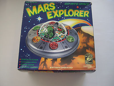 Mars Explorer Toy with Bump and Go Action