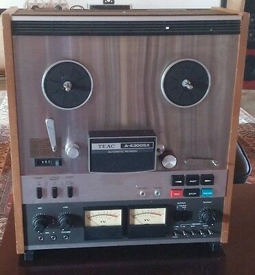 Teac A-4300SX 2 channel 1/4 track  Reel to Reel Machine