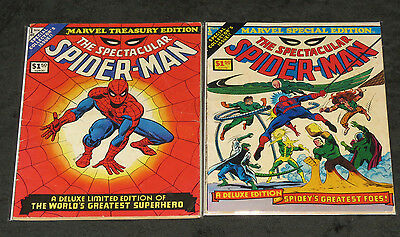 Marvel Treasury Edition # 1 Marvel Special Edition # 1 The Spectacular Spiderman