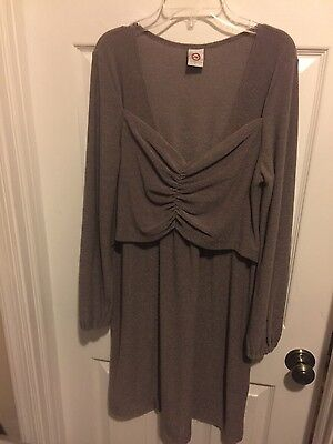 Japanese weekend nursing sweater dress size L, NWOT