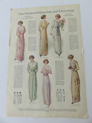 Vintage Fashions Coat & Suit & Dress By Augusta Reimer Ladies Home Journal 1900s