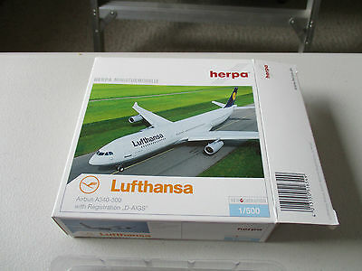 Herpa Wings  516549 Lufthansa A340-300 Version 6