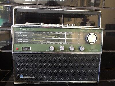Sanyo Campanetta Vintage 7 Band All Wave Transistor Radio