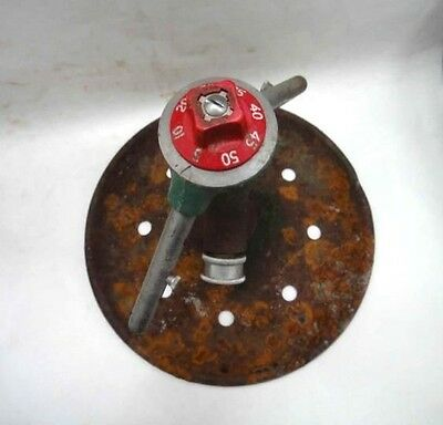 vintage/antique AUTOMATIC RAIN KING model k-2  GARDEN LAWN SPRINKLER metal prim