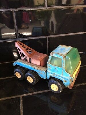 Vintage Collectable Rico Toy Crane Truck  Tin Made In Spain
