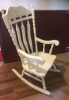 Solid Wooden Homestead Rocking Chair - Excellent Condition