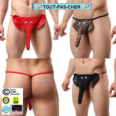Sexy String Elephan G-String Homme Humour Gay Animal Erotic Toy Pants