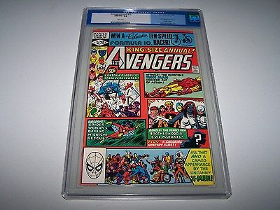 Avengers Annual #10 CGC 9.8 White Pgs (Old Label) **1ST ROGUE** ~ MAKE AN OFFER!
