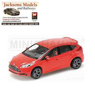 Minichamps 410 081001 Ford Fiesta ST 2011 Red 1:43 Scale
