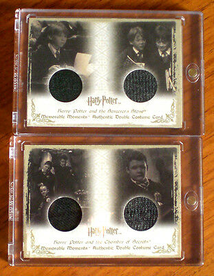 5 sehr seltene Harry Potter Jersey Cards Emma Watson, Patterson, Grint, Ron