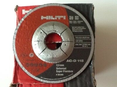 Hilti Steel Metal USP Cutting Discs for 115 mm Angle Grinder Box of 25