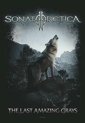 "Sonata Arctica Flagge / Fahne ""the Last Amazing Grays"" Poster Flag Posterflagge"