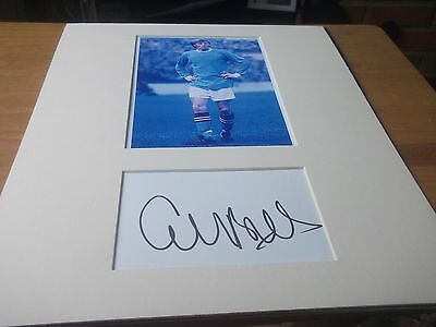 Colin Bell  Man City  Signed &  Mounted Picture 14X11 Plus Free Postage