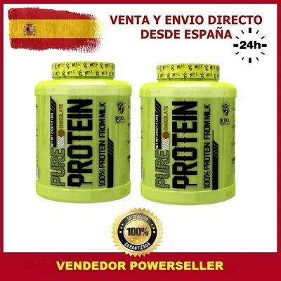 PACK 2 BOTES TOTAL 4 KG PROTEINA WHEY PRO+ 2 kg Sabor COOKIES - BULK NUTRITION