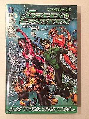 Green Lantern Rise of the Third Army sealed hardcover