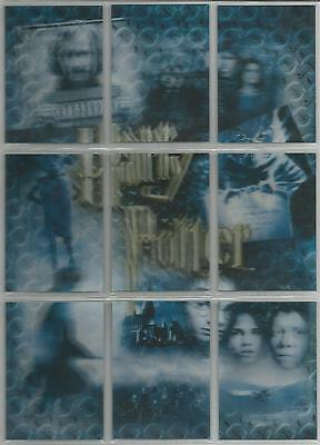 Harry Potter 3D 2nd Edition - Puzzle Set of 9 Chase Cards #PZ1-PZ9
