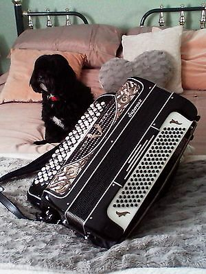 Ranco Super Vox 5 row continental accordion - 'C' System