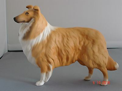 Vintage Sable & White Rough Collie (Lassie) by Beswick. Lovely condition.