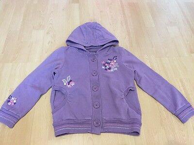 Girls Hooded Jumper/Hoodie By Next - Age 7 Years
