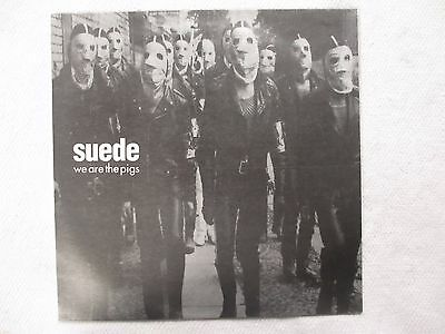 "Suede, We Are The Pigs. 12"" Vinyl Single, Excellent"