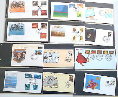 1982 to 1985 Australia FDC First Day Cover Collection QEII 60 Covers