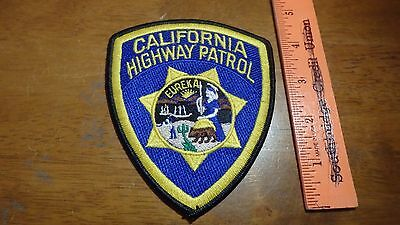 California Highway Patrol   Obsolete Shoulder Patch Bx 12