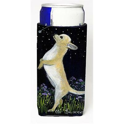 Carolines Treasures Chihuahua Michelob Ultra bottle sleeves For Slim Cans 12 oz.