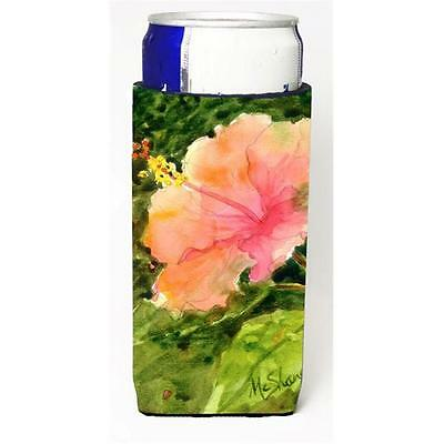 Flower Hibiscus Michelob Ultra bottle sleeves For Slim Cans 12 oz.