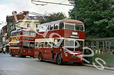 Bus Photograph READING VRD 185 [185] Trolleybus