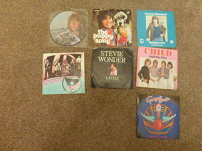 """A collection of 7 7"""" 45RPM Singles"""