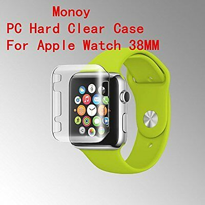 CLEAR CASE COVER Screen Protector Film Accessories For iWatch 38MM APPLE WATCH 1