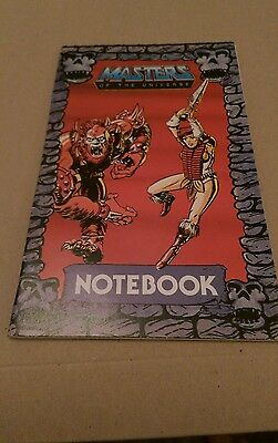 Masters Of The Universe Notebook 1985