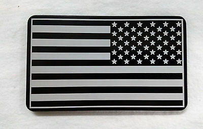 American Flag, Army Patch, Billet Aluminum Trailer Hitch plug Cover, 3x5