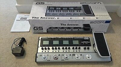 Zoom G5 Guitar Effects and Amp Simulator Pedal