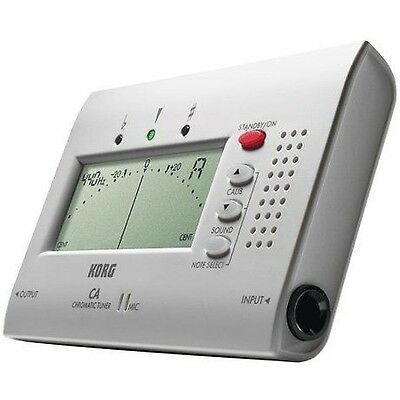 New Korg CA-40 Chromatic Tuner CA40 - Tunes all instruments including Guitar.
