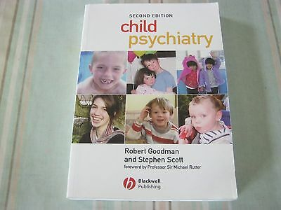 Child Psychiatry (Second Edition) Paperback Book - R. Goodman And S. Scott