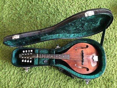 Barnes & Mullins Wimbome Tear-drop Shape Solid Body Mandolin with Hard Case