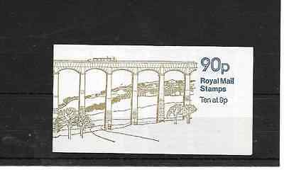GB 1978 Llangollen Canal Folded 90p Booklet - FG 3A - Cyl No