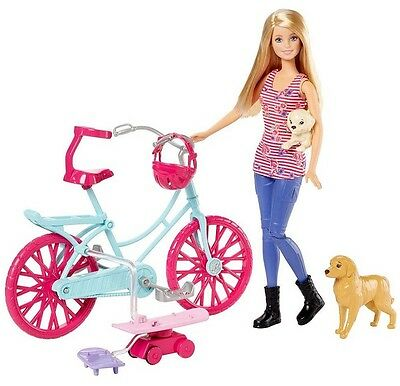 Barbie & Her Sisters in The Great Puppy Adventure Spin 'N Ride Bike Pups Tiffany