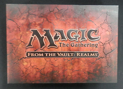 Magic the Gathering - Factory Sealed - From The Vault Realms FTV MTG Free Ship