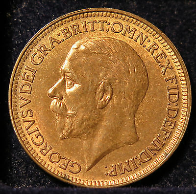King George V Farthing - Nice Grade - 1927 - Coin