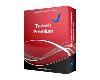 Learn To Speak TURKISH PREMIUM Language Course PC CD-ROM New