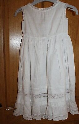 Vintage Victorian old childs petticoat dress